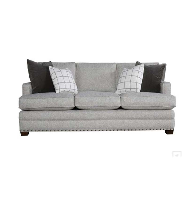 Sofa Riley tela gris