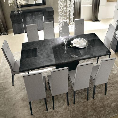 Comedor Montecarlo mesa rectangular con 8 sillas