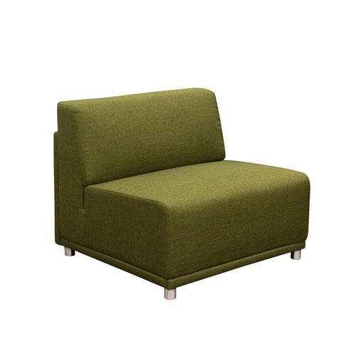 Moderna Armless Accent Chair