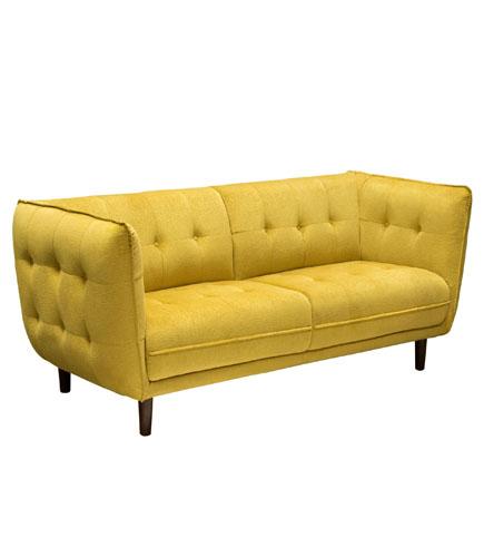 Venice Button Tuft Fabric Sofa