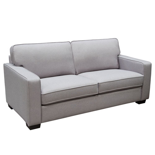 Watson Sofa in Light Grey Fabric