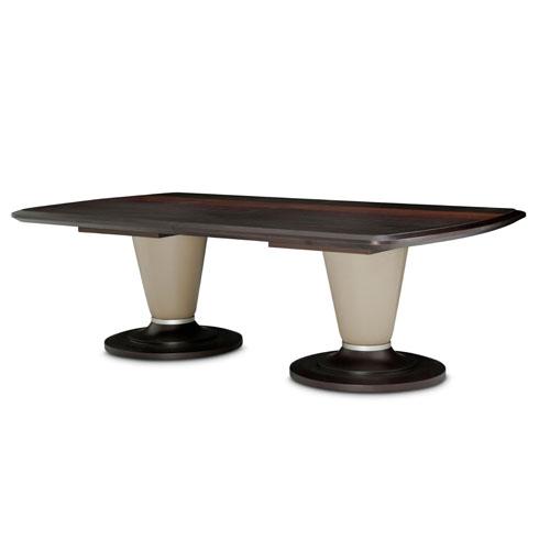 Mesa rectangular de comedor 21 Cosmopolitan base taupe