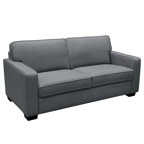 Watson Sofa in Dark Grey Fabric