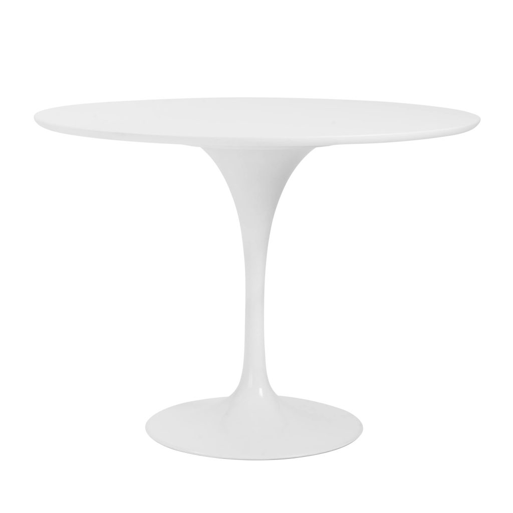 Mesa comedor astid redonda blanca 40